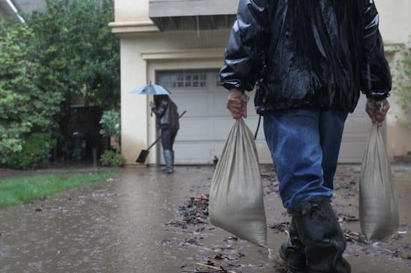 Rain Storms Threaten Parched Southern California With Mudslides