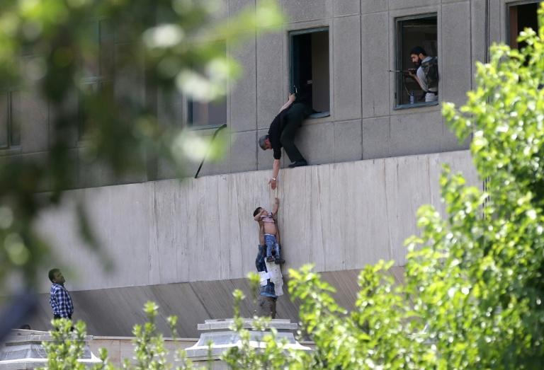 Attacker blows himself up in Iran parliament