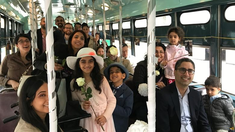 'It was like fate': Toronto man enlists vintage TTC car for surprise proposal