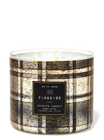 "<p><strong>Bath & Body Works</strong></p><p>bathandbodyworks.com</p><p><strong>$14.50</strong></p><p><a href=""https://www.bathandbodyworks.com/p/fireside-3-wick-candle-026178219.html"" rel=""nofollow noopener"" target=""_blank"" data-ylk=""slk:Shop Now"" class=""link rapid-noclick-resp"">Shop Now</a></p><p>People are legit obsessed with Bath & Body Works candles and for good reason. They last a long time and their fragrances linger in the room even when they're not burning. The Fireside scent is a mix of smoked cedar, fresh clove bud, and warm embers to give you the sensation of sitting next to a warm fireplace even if you don't have one. It's the perfect winter candle.</p>"