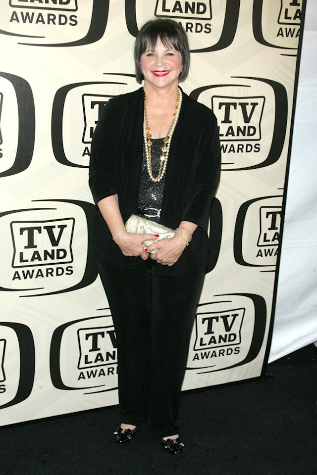 Cindy Williams arrives at the 10th Annual TV Land Awards at the Lexington Avenue Armory on April 14, 2012 in New York City.