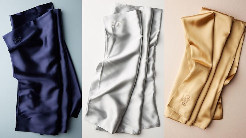 This soft silk pillowcase is excellent on skin and hair.
