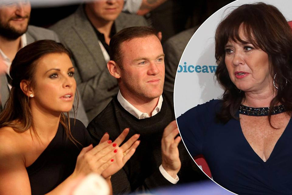 Wayne Rooney and wife Coleen, as Coleen Nolan urges the pair to get therapy. (PA/WENN)