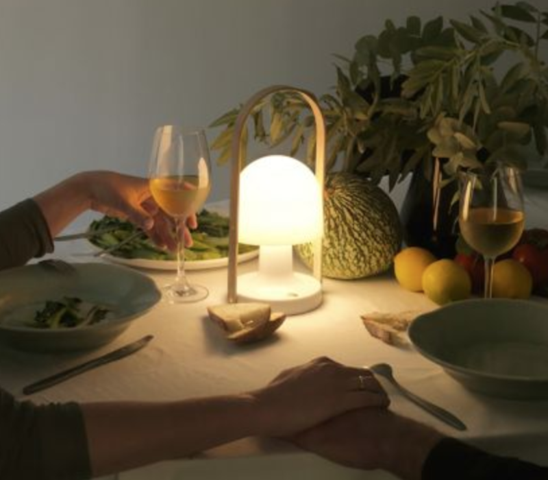 This rechargeable LED light is perfect for mood lighting. (Photo: YLighting)