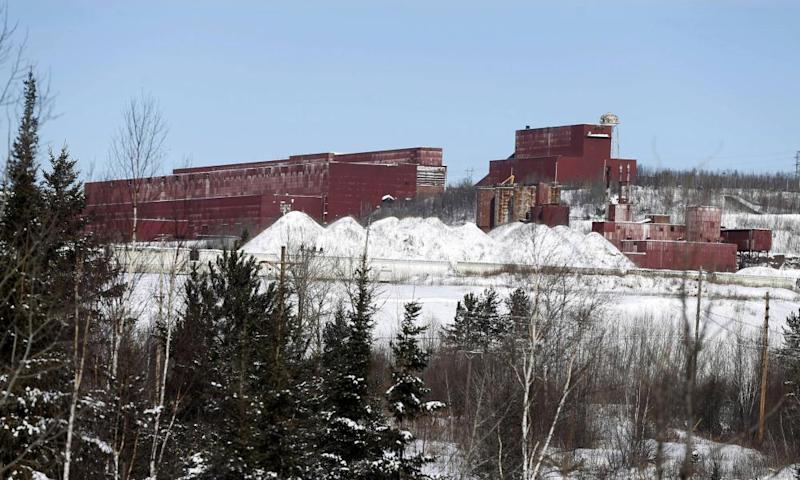 A closed steel plant near Hoyt Lakes, Minnesota, was later awarded to a planned copper and nickel mine in 2016.