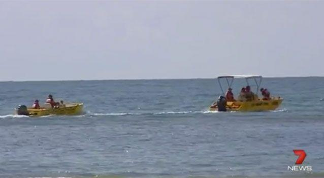 The search and rescue effort resumed again on Monday morning. Source: 7 News.