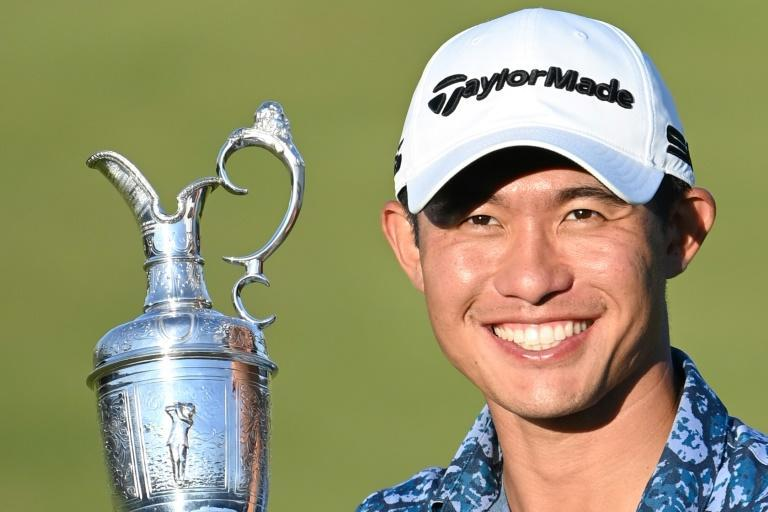 Collin Morikawa became the first golfer to win two majors on his debut at the event with victory at the British Open
