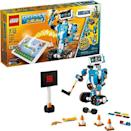 """<p><strong>LEGO</strong></p><p>amazon.com</p><p><strong>$148.80</strong></p><p><a href=""""https://www.amazon.com/dp/B072MK1PDV?tag=syn-yahoo-20&ascsubtag=%5Bartid%7C10055.g.203%5Bsrc%7Cyahoo-us"""" rel=""""nofollow noopener"""" target=""""_blank"""" data-ylk=""""slk:Shop Now"""" class=""""link rapid-noclick-resp"""">Shop Now</a></p><p>Robotics fans will be delighted at the number of projects this kit will let them build, code and program with the LEGO Boost app. The star of the show is Vernie, a robot who dances and cracks jokes (and even passes gas). But it can also be used to make an interactive cat, a guitar, a rover and an automated machine that can build other LEGO models. <em>Ages 7+</em></p>"""