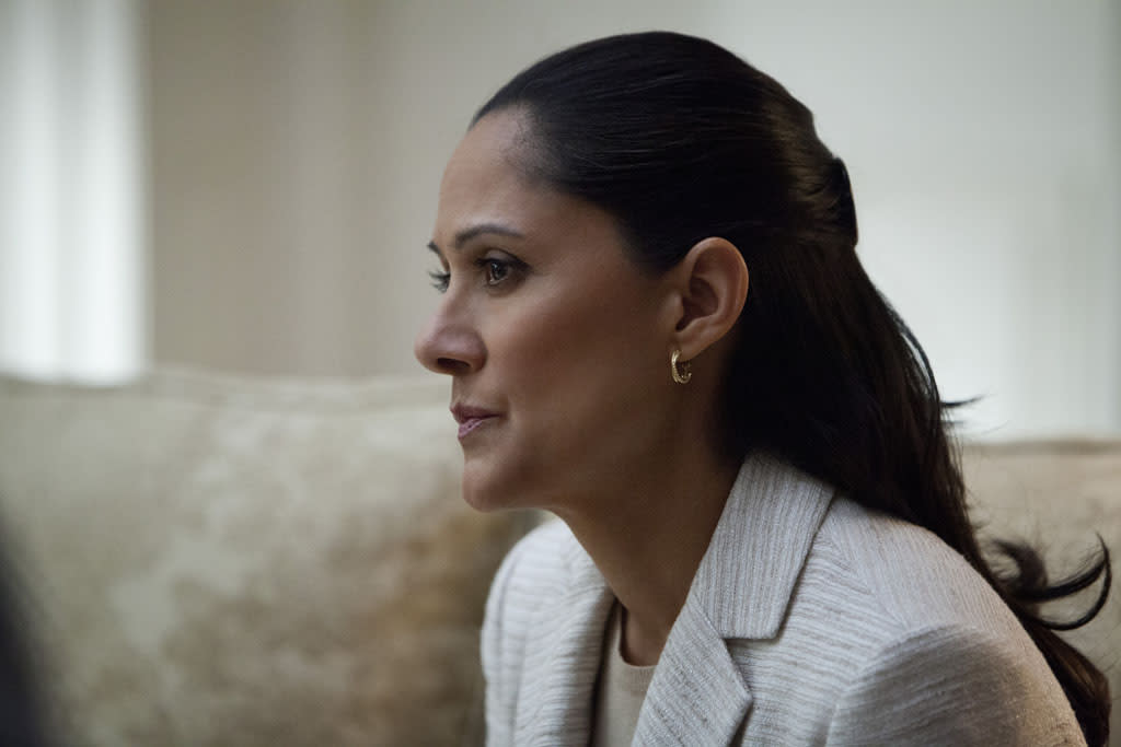 "Sakina Jaffrey in the ""House of Cards"" Season 1 episode, ""Chapter 10."""