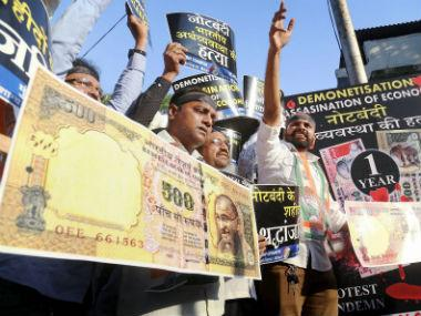 Demonetisation: Opposition slams govt after former-CEA's criticism, says note ban failed to unearth black money, destroyed economy