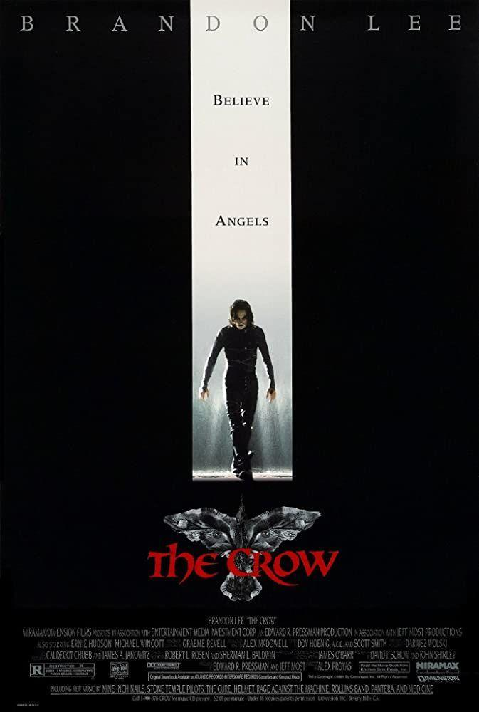 "<p>It's a superhero film all about death and Halloween and revenge was also the last performance for star Brandon Lee. </p><p><a class=""link rapid-noclick-resp"" href=""https://www.amazon.com/Crow-Brandon-Lee/dp/B005ZD8I6K/ref=sr_1_1?dchild=1&keywords=The+Crow&qid=1593549032&s=instant-video&sr=1-1&tag=syn-yahoo-20&ascsubtag=%5Bartid%7C10063.g.34171796%5Bsrc%7Cyahoo-us"" rel=""nofollow noopener"" target=""_blank"" data-ylk=""slk:WATCH HERE"">WATCH HERE</a></p>"