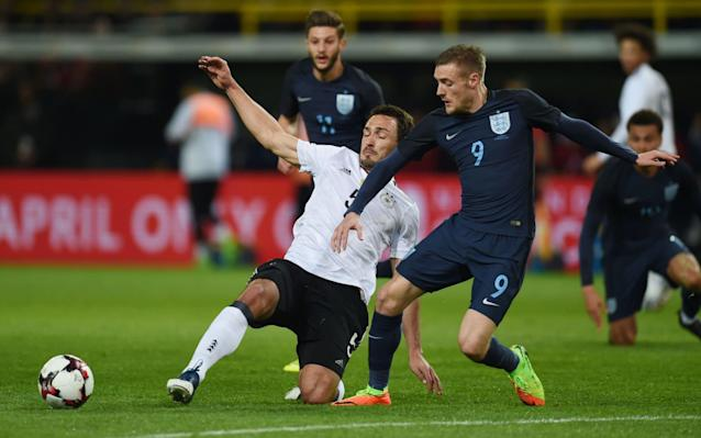 England will look to build on a promising display against Germany - AFP