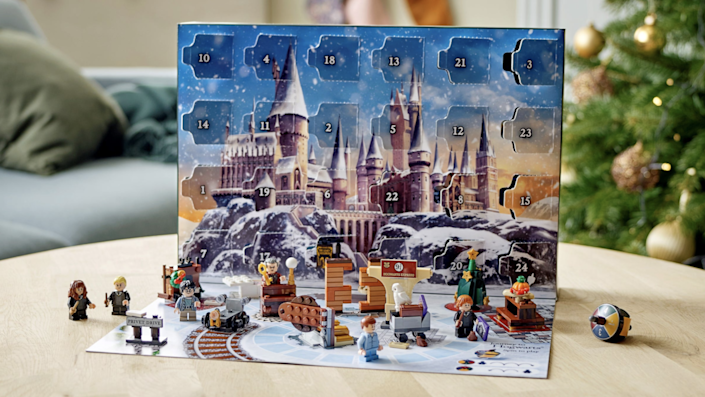 The 2021 Lego Harry Potter Advent calendar is fun for wizards of all ages.