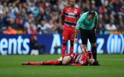 Philip Billing got injured against Swansea in mid-OctoberCredit: getty images