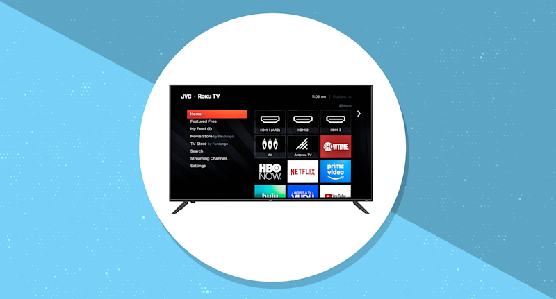 Save $120 on this 4K TV. (Photo: Walmart/Yahoo Lifestyle)