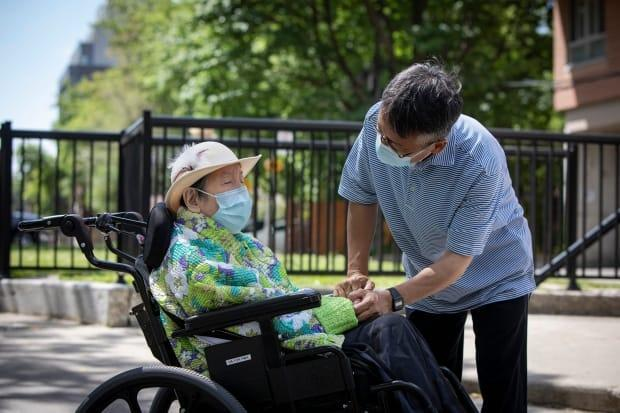 Canadian seniors living in long-term care residences and other congregate-care settings should receive COVID-19 booster shots, NACI recommended on Tuesday.  (Evan Mitsui/CBC - image credit)