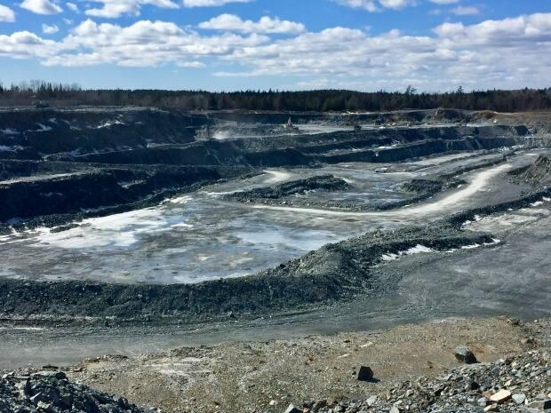 Atlantic Gold's Touquoy mine site in Moose River, N.S. (Paul Palmeter/CBC - image credit)
