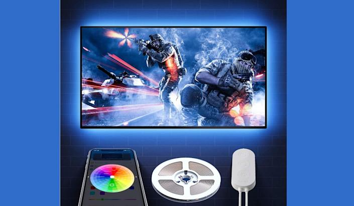 Bias lighting is a must-have addition to any home theater (or videogame area). It's super-cool, and only seven bucks right now! (Photo: Amazon)