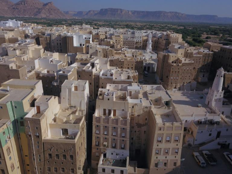 Shibam's mud-brick tower houses are centuries old and the constructions need constant repair, but Yemen's economy has collapsed