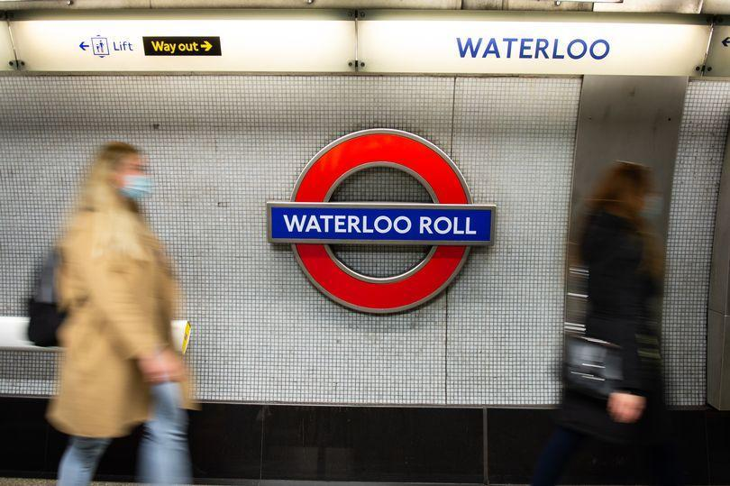 New stations names appeared on the London Underground as part of a campaign to make people think about constipation