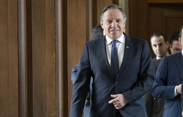 François Legault pitches Quebec as 'battery of North America' in New York