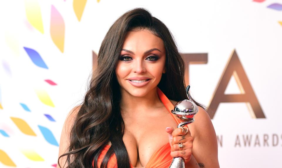 Jesy Nelson is embracing her natural nose. (PA)