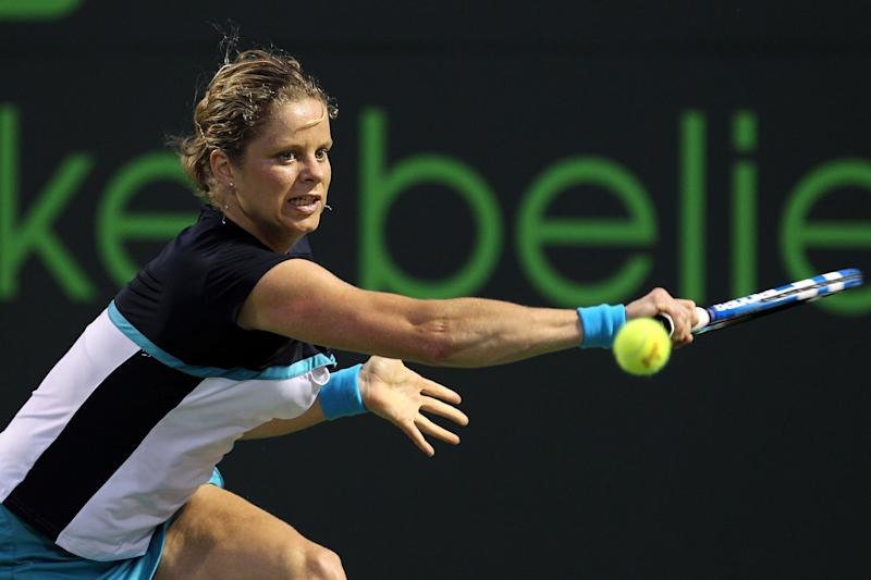 Clijsters retired for a second time in 2012 (Getty images)