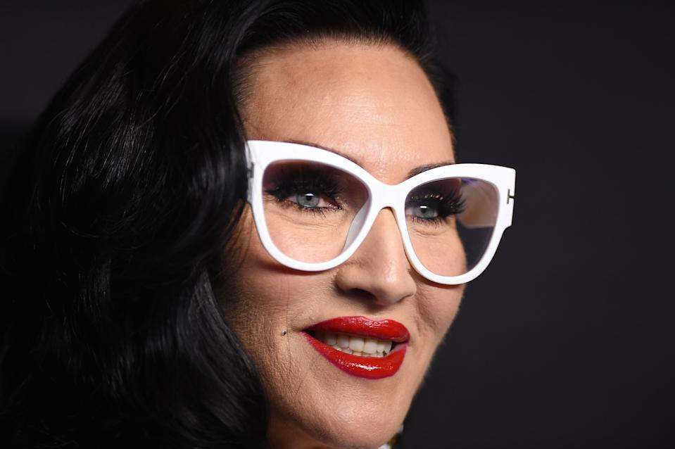 Michelle Visage arrives for the PaleyFest Presentation of VH1's RuPaul's Drag Race at the Dolby Theatre on March 17, 2019 in Hollywood, California (Photo by VALERIE MACON / AFP via Getty Images)