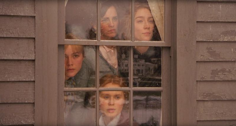 LITTLE WOMEN, clockwise from top left: Emma Watson as Meg, Saoirse Ronan as Jo, Eliza Scanlen as Beth, Florence Pugh as Amy, 2019. © Columbia Pictures / courtesy Everett Collection
