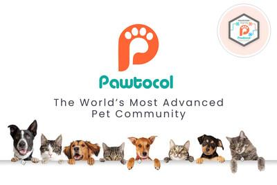 Pawtocol is a global online community of pet lovers who are disrupting the pet industry by leveraging blockchain technology while monetizing data about their pets. (PRNewsfoto/Pawtocol)