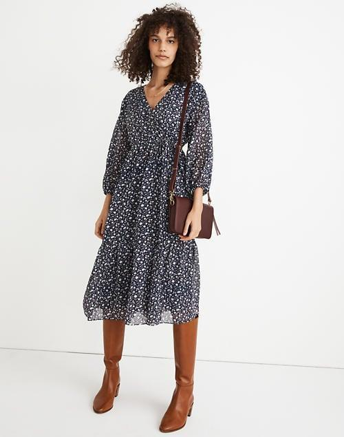 <p><span>Tie-Waist Midi Dress</span> ($80, originally $148 (plus an extra 30 percent off with code GIGANTIC))</p>