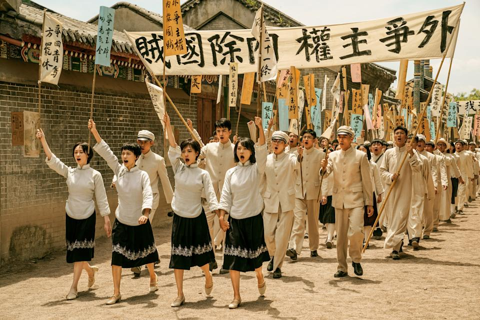 1921 is a historical drama dedicated to the 100-year anniversary of the Chinese Communist Party. (Photo: Golden Village Pictures)