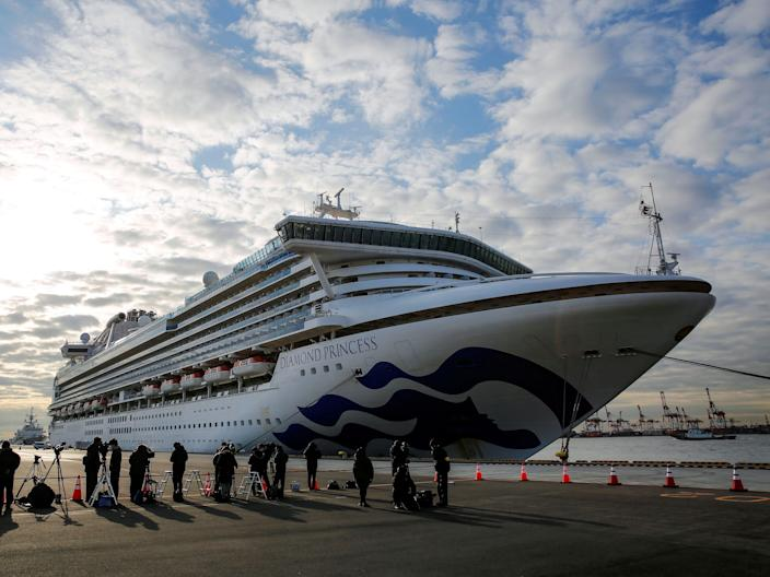 Over 700 people on a recent cruise on Princess Cruises' Diamond Princess ship contracted the coronavirus.