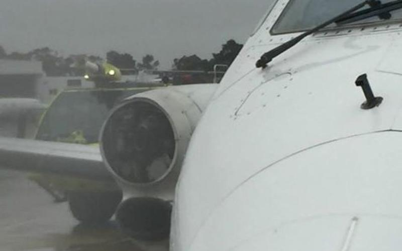 REX flight forced into emergency landing after losing propeller