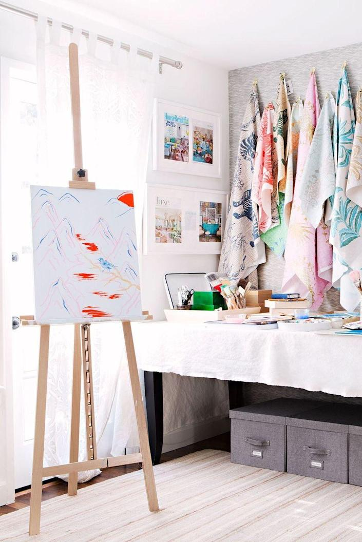 <p>Maintain a well-organized craft room to stow supplies and retreat to whenever creativity strikes. </p>
