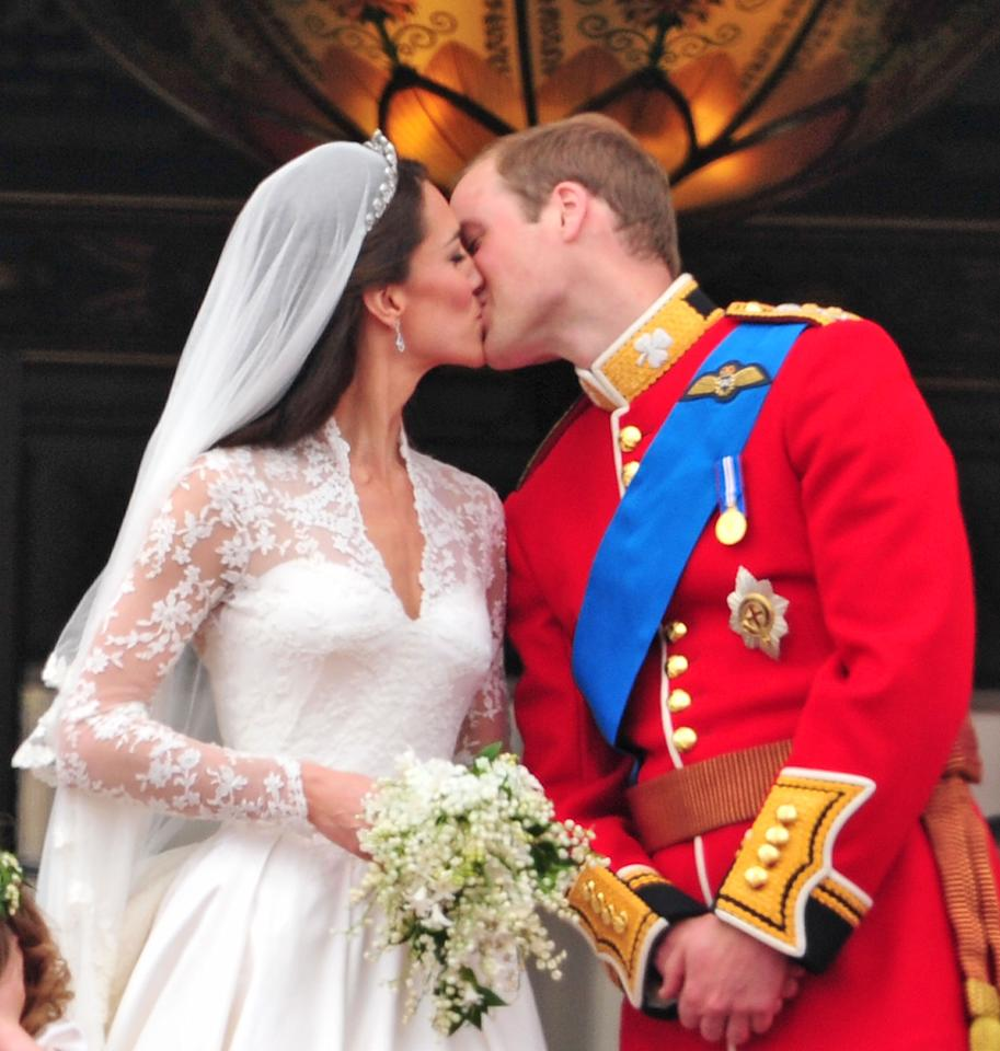 "<div class=""caption-credit""> Photo by: James Devaney/FilmMagic</div><div class=""caption-title"">It's been a year since this kiss happened.</div><b>It's been a year since this kiss happened. <br></b> <br> Remember counting down to the second when Will and Kate would <a rel=""nofollow"" href=""http://yhoo.it/IczU3A"" target=""_blank"">share a balcony kiss</a>? It seemed important and finalizing at the time. But then, life goes on. So what happened after the fairytale ended? It didn't. <br>"