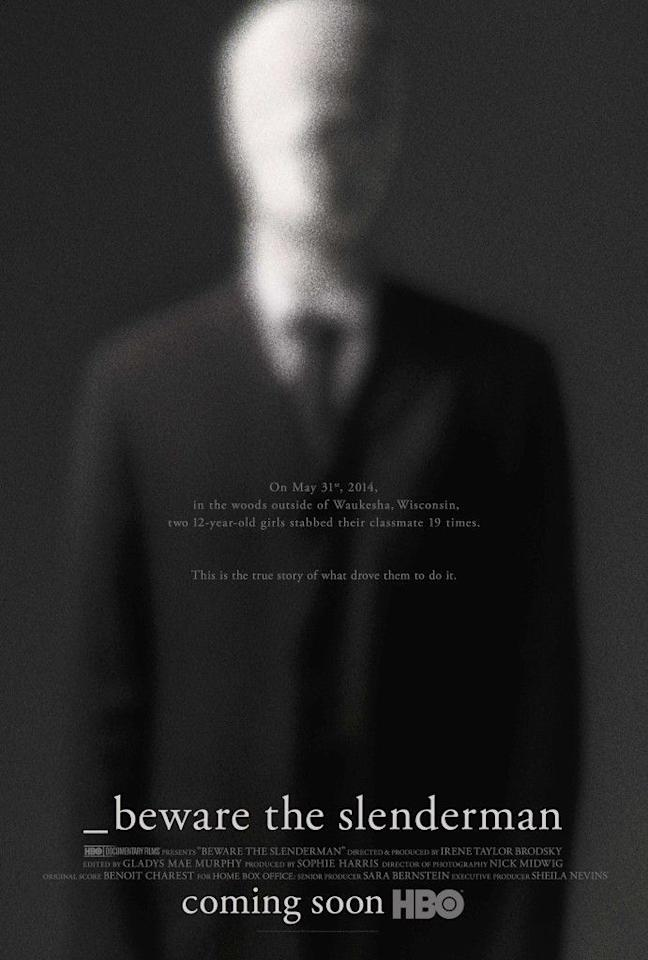"""<p>FYI: The best time to watch <em>Beware The Slenderman</em> is not when you're alone at night. The fictional creature was manufactured on—yup, you guessed it—the internet in 2009. Seven years later, HBO made a documentary about the mythical being and the shockingly true story of two teenagers who stabbed their friend to prove the Slenderman was real.</p><p><a class=""""body-btn-link"""" href=""""https://www.hbo.com/documentaries/beware-the-slenderman"""" target=""""_blank"""">Watch Now</a></p>"""