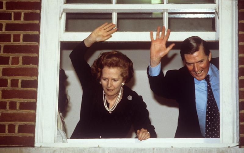 Margaret Thatcher won re-election on a promise of lower taxes. - Credit: Rex Features