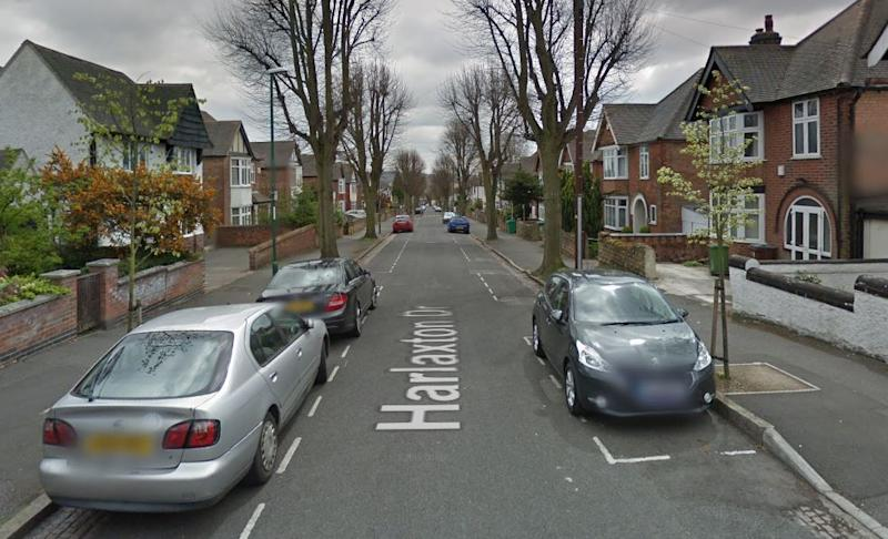 The house party took place in Harlaxton Drive, Lenton, Nottingham (Picture: Google)