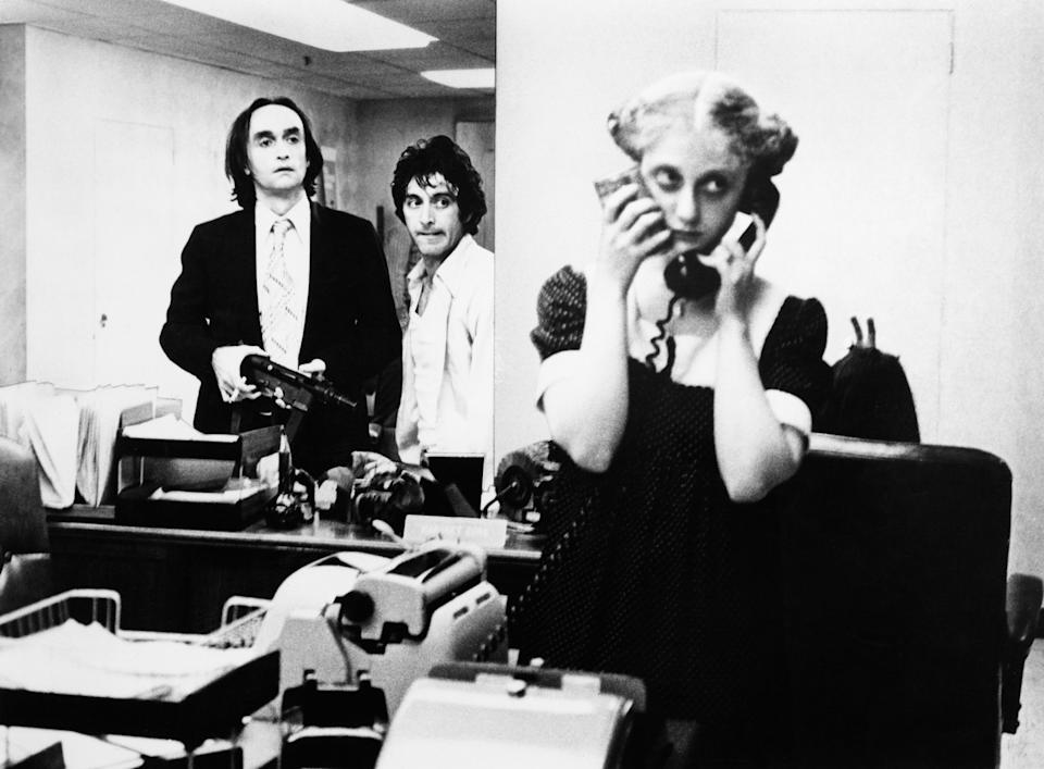 "Al Pacino, John Cazale and Kane in ""Dog Day Afternoon."" (Photo: Warner Bros. via Getty Images)"