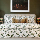 """<p><strong>Biscuit Home </strong></p><p>biscuit-home.com</p><p><strong>$225.00</strong></p><p><a href=""""https://www.biscuit-home.com/collections/duvets-sheet-sets/products/bloomsbury-duvet-green"""" rel=""""nofollow noopener"""" target=""""_blank"""" data-ylk=""""slk:Shop Now"""" class=""""link rapid-noclick-resp"""">Shop Now</a></p><p>Steer away from the typical solids with this patterned option from <a href=""""https://www.biscuit-home.com/"""" rel=""""nofollow noopener"""" target=""""_blank"""" data-ylk=""""slk:Biscuit Home"""" class=""""link rapid-noclick-resp"""">Biscuit Home</a>. This abstract floral repeat offers a touch of whimsy but will pair nicely with a variety of sheets. Plus, the cotton sateen will feel nice against your skin.</p>"""