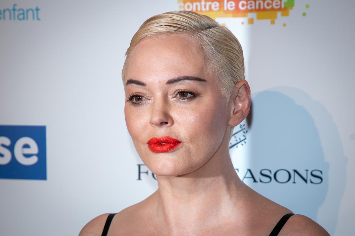 Rose McGowan has issued a new statement about her criticism of Natalie Portman's Oscars nod to snubbed women directors. (Photo: Marc Piasecki/Getty Images)