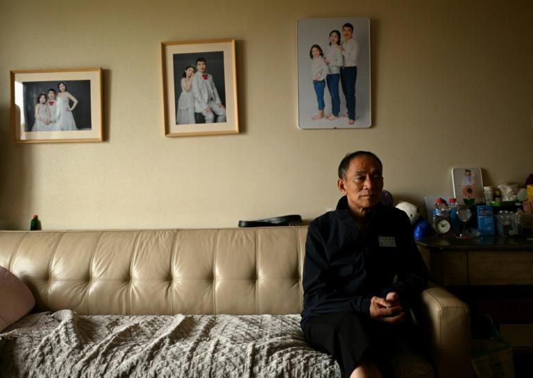 Chen Shaohua is among the approximately 10 million people who have been diagnosed with Alzheimer's Disease in China (AFP/NOEL CELIS)