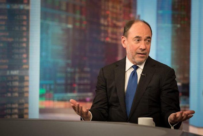 Douglas Holtz-Eakin, president of American Action Forum Inc., speaks during a Bloomberg Television interview on June 20. (Photo: Kholood Eid/Bloomberg via Getty Images)