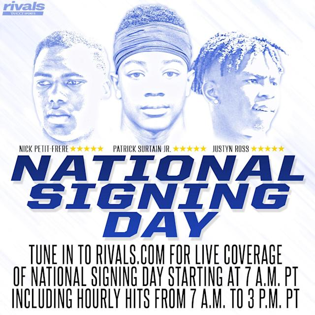 Rivals.com has you covered on National Signing Day. (Rivals.com)