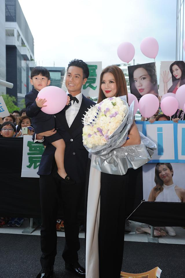 <p>Andie Chen and Rui En. (Photo: Mediacorp) </p>
