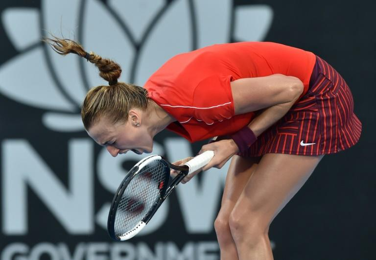 Petra Kvitova had beaten Ashleigh Barty both the previous times they played but had to dig deep to win, coming back from an 0-3 deficit in the final set
