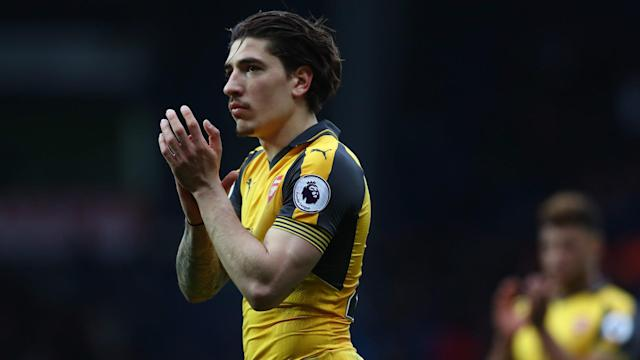While Arsenal are facing an uphill battle to finish in the Premier League's top four, Hector Bellerin remains confident.