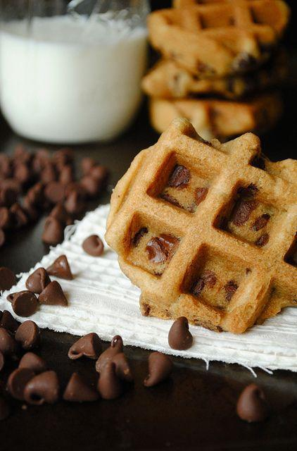 """<p>Making cookies just got so much easier.</p><p>Get the recipe from <a rel=""""nofollow noopener"""" href=""""http://www.howto-simplify.com/2011/09/chocolate-chip-waffle-cookies.html"""" target=""""_blank"""" data-ylk=""""slk:How to Simplify"""" class=""""link rapid-noclick-resp"""">How to Simplify</a>.</p>"""