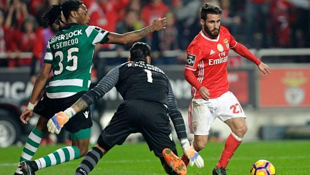 <p>This Lisbon derby is one of the most fiery in the whole of Europe.</p> <br><p>Current leaders Benfica are five points ahead of second place Porto and ten ahead of local rivals Sporting CP. However, the 'Lisbon Lions' will do anything to stop Benfica from winning their 36th Portuguese title.</p> <br><p>It's a matter of anyone but them when it comes to Sporting's outlook on this match but Benfica will be targeting to silence their 'noisy neighbours'.</p>